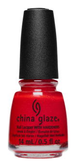China Glaze Nail Lacquer, Santa Monica Claus, 0.5 fl oz