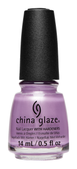 China Glaze Nail Lacquer, Silent Nightlife, 0.5 fl oz