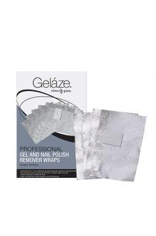 Gelaze, PROFESSIONAL GEL & NAIL POLISH REMOVER WRAPS - 100ct