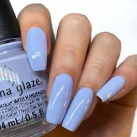 China Glaze Nail Lacquer, Surfside Skies, 0.5 fl oz