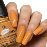 China Glaze Nail Lacquer, Sunny You Should Ask, 0.5 fl oz