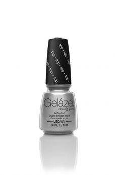 Gelaze, GEL TOP COAT  0.5 fl oz