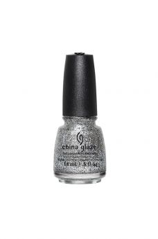 China Glaze Nail Lacquer, Silver Of Sorts 0.5 fl oz